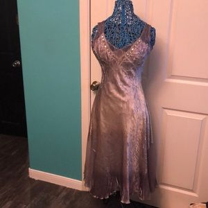 Gorgeous metallic fitted dress